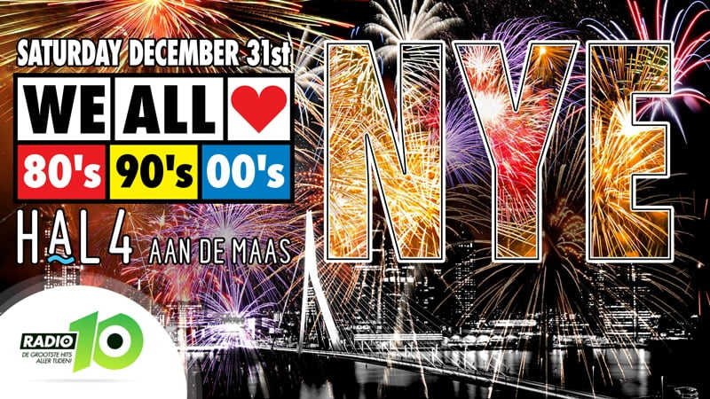 WE ALL LOVE 80's 90's 00's NYE