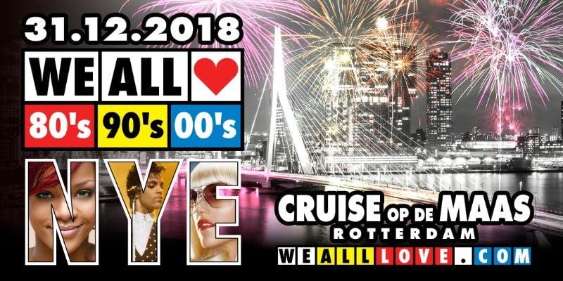 WE ALL LOVE 80's 90's 00's - NYE CRUISE 2019