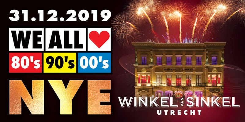 Oud en Nieuw Winkel van Sinkel Utrecht | WE ALL LOVE 80's 90's 00's